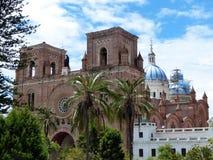 ³ n De Cuenca de Catedral de la Inmaculada Concepcià au centre de Cuenca, Equateur photographie stock libre de droits