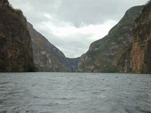 ³ n del Sumidero, Chiapas de Cañà fotos de archivo libres de regalías