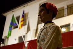 ³ tradicional de Sant Pere de Torellà das celebrações imagens de stock royalty free