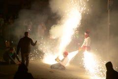 ³ tradicional de Sant Pere de Torellà das celebrações fotografia de stock royalty free