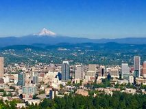 ¸ do ‡ do ºðŸ do ‡ do ðŸ de Portland Oregon foto de stock