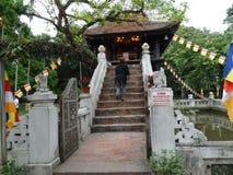 ¹ Chû ™t Cá ™t» Má - одна пагода штендера Стоковое Изображение RF