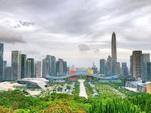 ¼ ŒChina di ShenZhenï fotografie stock