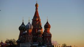 ¼ ŒChristian de Cathedralï de ŒSaint Basil russe de ¼ de churchï photographie stock libre de droits