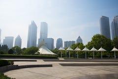 ¼ ŒQingdao do ï de Ásia China, plaza de ŒMusic do ¼ de Shandong Provinceï fotografia de stock royalty free