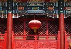 ¼ chino China de Lanternï Fotografía de archivo