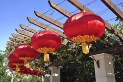 ¼ chino China de Lanternï Fotografía de archivo libre de regalías