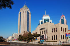 ¼ Cina del cityï di Qingdao immagine stock libera da diritti