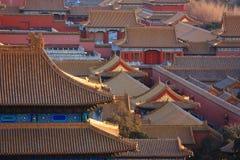 ¼ Cina di Cityï severo Pechino Fotografia Stock Libera da Diritti