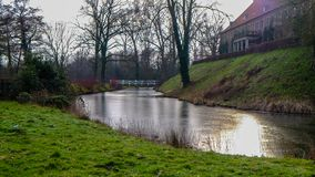 ¼ ck Schloss Rheda - Rheda-WiedenbrÃ, tersloh ¼ Kreis GÃ, Nordrheinwestfalen, Deutschland/Германия Стоковая Фотография RF