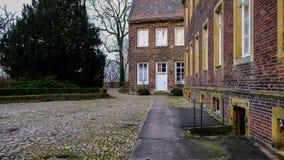 ¼ ck Schloss Rheda - Rheda-WiedenbrÃ, tersloh ¼ Kreis GÃ, Nordrheinwestfalen, Deutschland/Германия Стоковое Изображение RF
