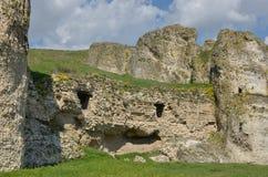 ¼ del ¿ Ï… Î di σΠdel  di ÎšÎ±Ï - fortificazione HârÈ™ova,› a, Romania di Carsum di ConstanÈ Fotografie Stock