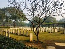 ¼ do› do â do cemitério da guerra fotografia de stock royalty free