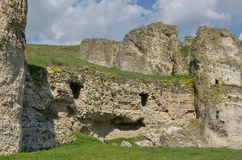 ¼ du ¿ Ï… Î d'σΠde  d'ÎšÎ±Ï - fortification HârÈ™ova,› a, Roumanie de Carsum de ConstanÈ Photos stock