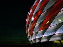 ¼ för den Allianz arenan FC Bayern MÃ nchen Munich arkivbilder