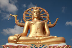 ¼ grande Samui de Buddhaï, Tailândia Fotos de Stock