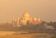 ¼ la India de Taj Mahalï Foto de archivo