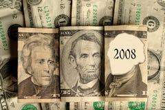 ¿2008? Foto de archivo libre de regalías