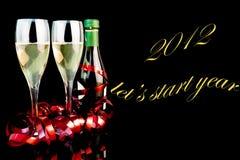 ¿2012 dejaron? año del comienzo de s Imagen de archivo libre de regalías