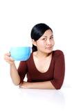 ¿Café cualquier persona? imagen de archivo