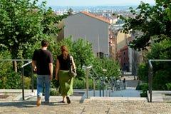 ¿Caminata o compras? Imagen de archivo