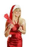 ¿Celebre la Navidad? Imágenes de archivo libres de regalías