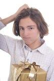 ¿Compré el presente del rigt? Imágenes de archivo libres de regalías