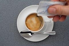 ¿Cuánto azúcar? Fotografía de archivo libre de regalías