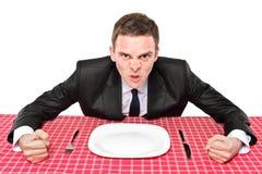 ¿Dónde está mi alimento? Imagenes de archivo