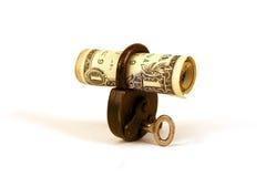 ¿Dinero de ILocked? - serie Imágenes de archivo libres de regalías
