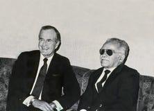 ¿Diplomacia sombría? imagen de archivo libre de regalías
