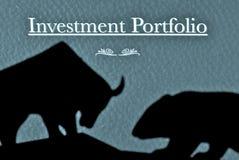 ¿Mercado de Bull o de oso? Fotografía de archivo libre de regalías