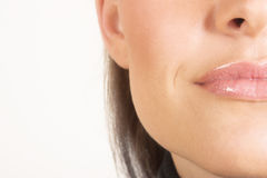 ¿Mujer? cara de s Foto de archivo libre de regalías