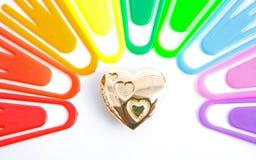 ¿Oro en el extremo del arco iris? Imagen de archivo libre de regalías