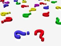 ¿Preguntas? Foto de archivo libre de regalías