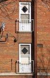 ¿Puertas a donde? Foto de archivo