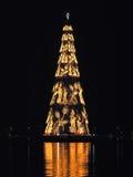 ¿Rio de Janeiro? árbol de navidad de s Imagen de archivo libre de regalías