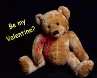 ¿Sea mi tarjeta del día de San Valentín? Fotografía de archivo libre de regalías