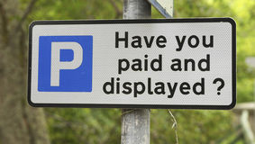 ¿Usted ha pagado y visualizado? Imagenes de archivo