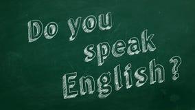 ¿Usted habla inglés? libre illustration