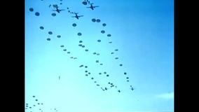 1963 – U.S. Airforce Parachute drops in south-east asia