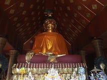 ฺBamboo wyplatający Buddha zdjęcia stock