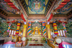ฺBhutanese temple at Bodhgaya Royalty Free Stock Photo