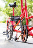 ฺBicycle in the park Stock Photo