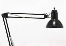 ฺBlack desk lamp Stock Photo