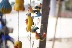 À¸Ÿà¸ móvel da boneca· Teddy Chicks do ภImagens de Stock Royalty Free
