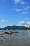 ิฺPatong Beach Phuket Thailand. Patong beach is located Phuket Thailand . White sand is good for your touch stock image