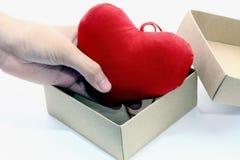 ็ Heart Box Royalty Free Stock Images