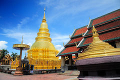 �Hariphunchai Temple Stock Photography
