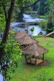 ้ีHut in the forest royalty free stock photos